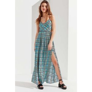 BNWT Urban Outfitters Gia Lace Up Maxi Dress / S